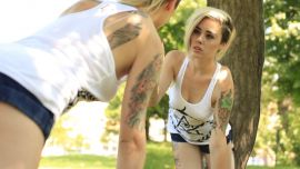 Девушка Татуировка