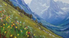 Mountain Paintings Landscapes