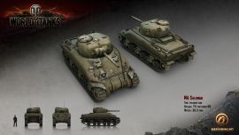 World Of Tanks M4 Sherman