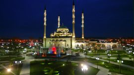 Chechnya Mosque