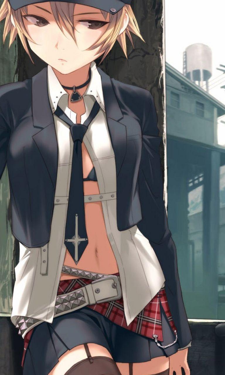 картинки аниме крутые девушки: